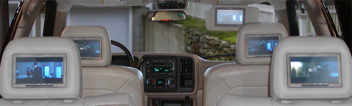 Video Systems installed in Cars